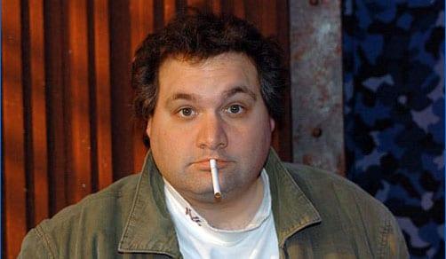 artie lange with cigarette
