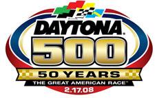 daytona 500 logo 2008