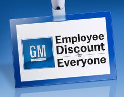 Gm Rolls Out Employee Discount Promotion Siriusbuzz