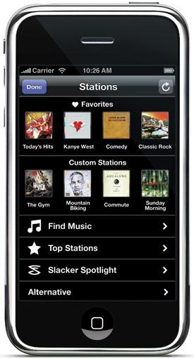 slacker-iphone-menu
