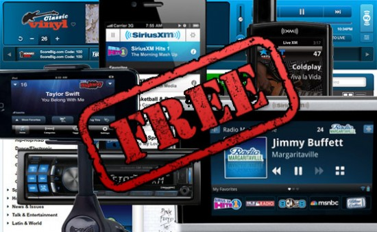 Siriusxm Wants You To Listen For Free Again