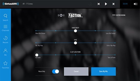 siriusxm-app-customize